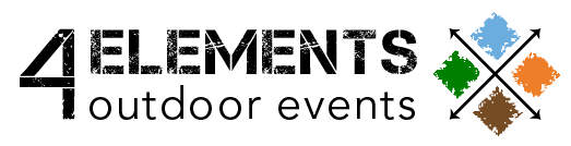 4 ELEMENTS outdoor events Logotyp